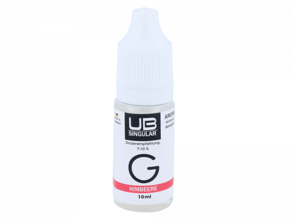 Ultrabio Singular - Aroma G Himbeere 10ml