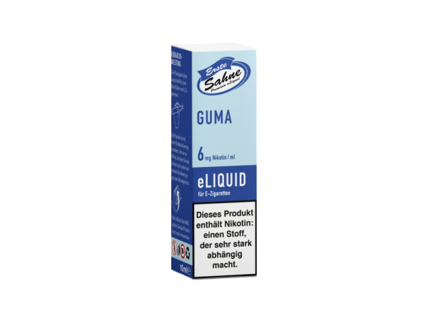 Erste Sahne Guma - E-Zigaretten Liquid